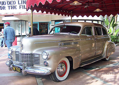 Art Print featuring the photograph Disney Cadillac by Tom Doud