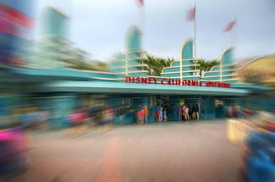 Photograph - Disney California Adventure by Ricky Barnard