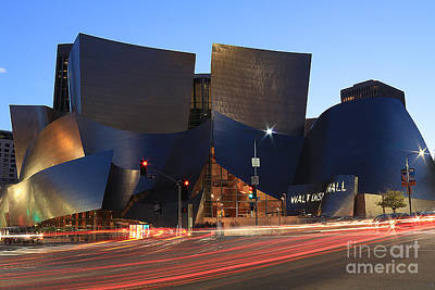 Photograph - Disney Concert Hall by Kevin Ashley