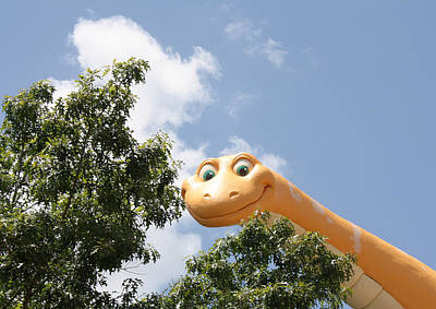 Photograph - Disney Dino by David Nicholls