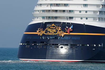 Photograph - Disney Dream Stern by Bradford Martin