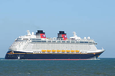 Photograph - Disney Fantasy by Bradford Martin
