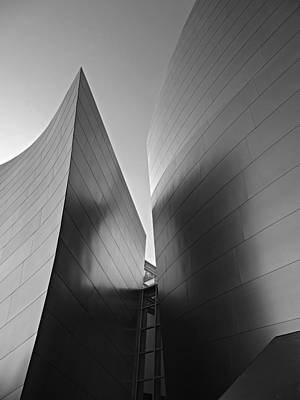 Photograph - Disney Hall by Eileen Shahbazian