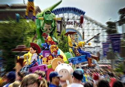 Photograph - Disney Parade by Ricky Barnard