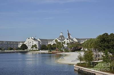 Photograph - Disney Yacht And Beach Club Resort II by Carol  Bradley