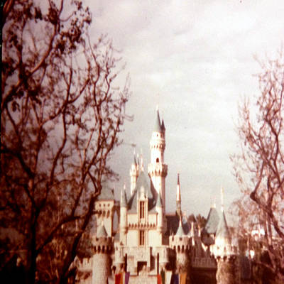 Priska Wettstein Pink Hues - Disneyland 1977 by Chris Fulks