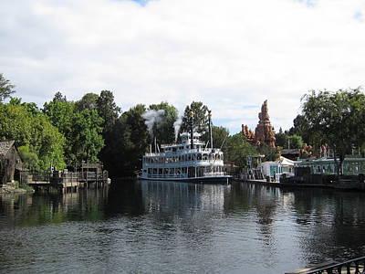 Disneyland Park Anaheim - 121212 Art Print