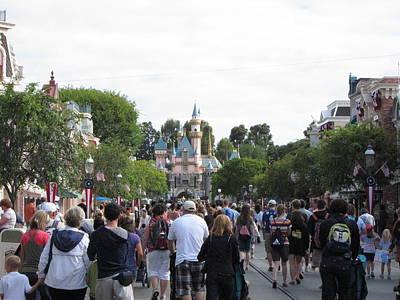 Disneyland Park Anaheim - 12122 Art Print