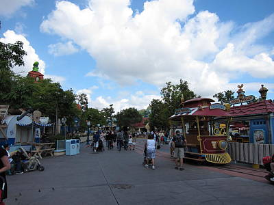 Disneyland Photograph - Disneyland Park Anaheim - 121231 by DC Photographer