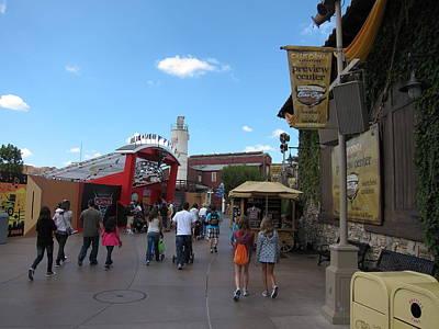 Screaming Photograph - Disneyland Park Anaheim - 121234 by DC Photographer