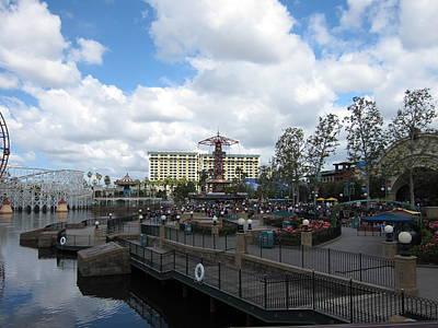 Disneyland Park Anaheim - 121238 Art Print by DC Photographer