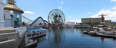 Disney Photograph - Disneyland Park Anaheim - 121252 by DC Photographer