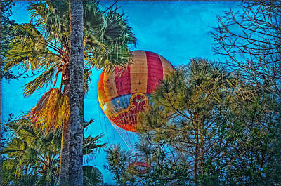 Photograph - Disney's Aerophile Balloon by Hanny Heim