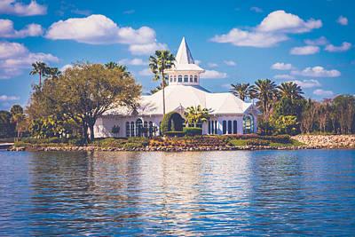 Photograph - Disney's Wedding Pavilion by Sara Frank