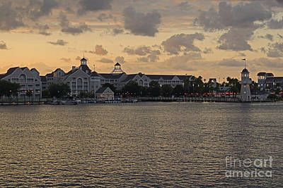 Photograph - Disney's Yacht Club Resort by AK Photography