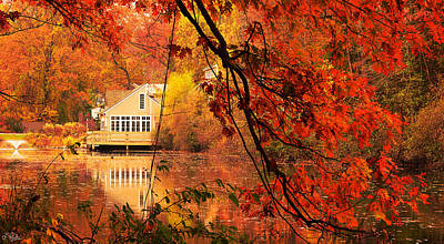 Reds Of Autumn Photograph - Display Of Beauty by Lourry Legarde