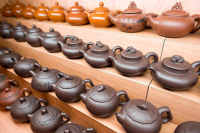 Display Of Chinese Teapots, Chinatown Art Print by Panoramic Images