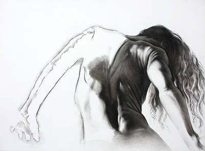 Mystique Drawing - Dissecting Emotions by Anne Cavanaugh