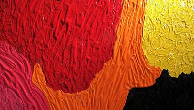 Dissolving Rigid Boundaries  Art Print by Paula Andrea Pyle