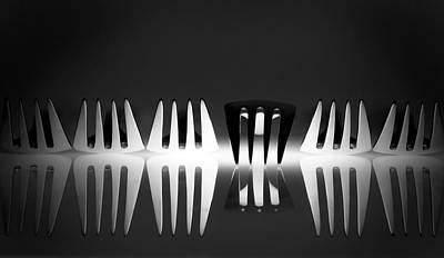 Cutlery Wall Art - Photograph - Dissonance by Wieteke De Kogel