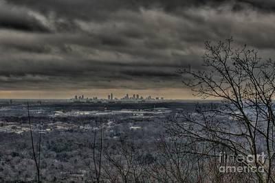 Photograph - Distant Atlanta by Kim Wilson