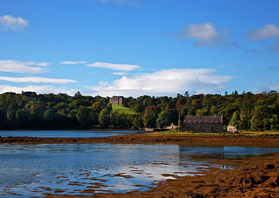 Lough Photograph - Distant Castleward House - Showing by Panoramic Images