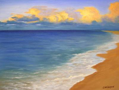 Painting - Distant Clouds by Francine Henderson