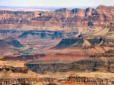 Photograph - Distant Colorado River by Audrey Van Tassell