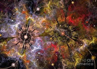 Distant Cosmos Art Print by Svetlana Nikolova