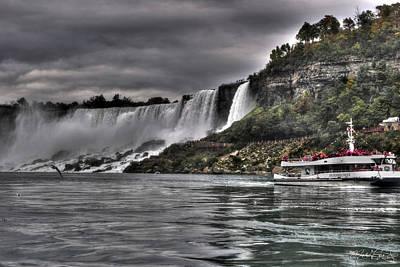 Ballerina Art - Distant Falls of Niagara  by Michael Frank Jr