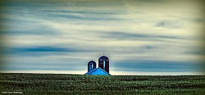 Photograph - Distant Farm  by Debra Forand