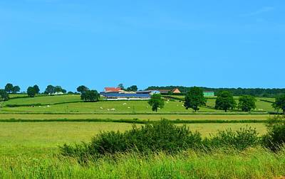 Wall Art - Photograph - Distant Farm House by Jackie and Noel Parry