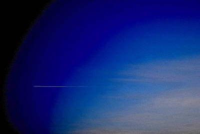 Distant Flight 5  Art Print by Lyle Crump
