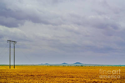 Americana Photograph - Distant Mountains by Gib Martinez