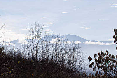 Pacific Northwest Photograph - Distant Olympic Mountains - National Park Lands by Marie Jamieson
