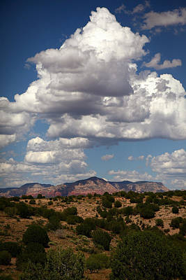 Photograph - Distant Sedona by Robert Melvin