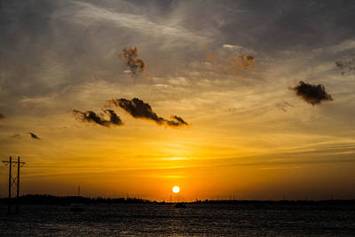Photograph - Distant Sunset by Shannon Harrington