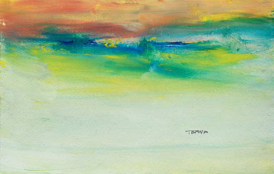 Painting - Distant Swells by Tonya Schultz