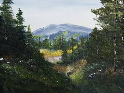 Painting - Distant Vista by Barry Jones