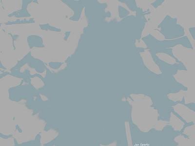 Digital Art - Distant Waters by Jen Sparks