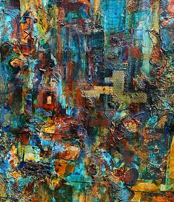 Impressionist Mixed Media - Distraction by Jeanette Riley