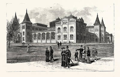 District Of Columbia The New Building Of The National Art Print by American School