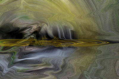 Digital Art - Disturbance In The Cosmos by Roy Erickson