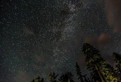 Pleiades Digital Art - Disturbing The Milky Way by Eti Reid