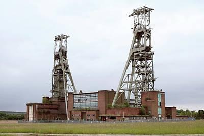 Disused Coal Mine Art Print