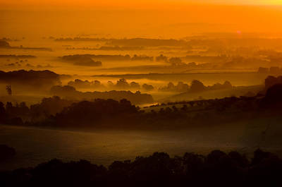 Photograph - Ditchling Sunrise by Mick House