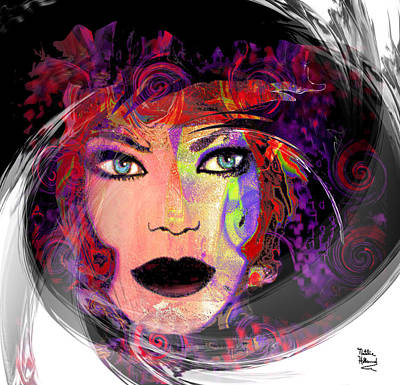 Mixed Media - Diva 1 by Natalie Holland