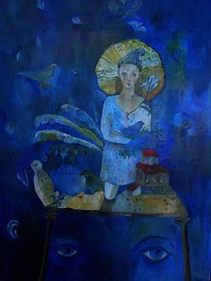 Painting - Diva by Aurelija Kairyte-Smolianskiene