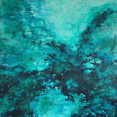 Painting - Dive In by Elizabeth Langreiter