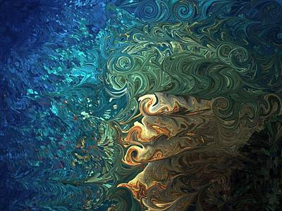 Unreal Digital Art - Dive Of Fireman's by Jim Williams